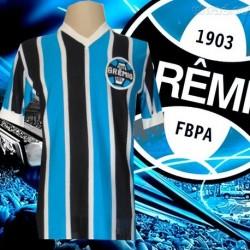 - Camisa retrô  Grêmio 1977 - tradicional