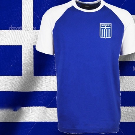 Camisa Retrô Grécia torcedor