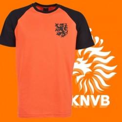 Camisa retrô Holanda gola redonda - 1960