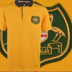 Camisa retrô Australiana  de rugby  - 1980