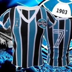 Baby look retrô Grêmio comemorativa   1983