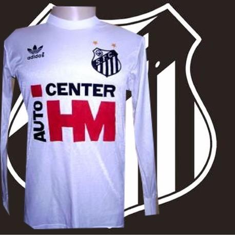Camisa retrô  Santos  HM center .
