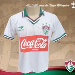 Camisa retrô fluminense  branca -1987