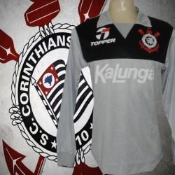 Camisa retrô Corinthians goleiro  Ronaldo cinza  ML  -1988