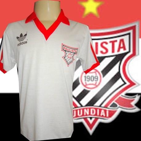 Camisa retrô Paulista  de Jundiai -1980
