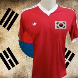 Camisa retrô Coreia 1954 - azul