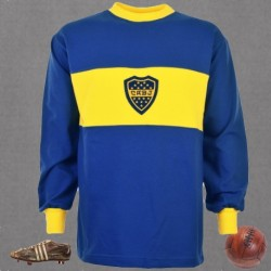 Camisa Retrô Boca Junior ML  1950- ARG