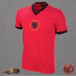 Camisa retrô  Albania vermelha