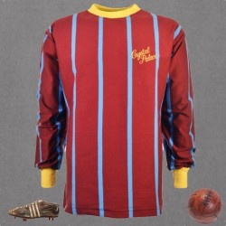 Camisa Retrô Crystal Palace ML 1971 listrada- ENG