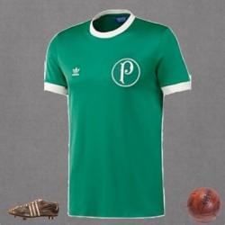 Camisa retrô Palmeiras  branca Cassino Pagé