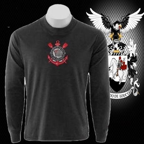Camisa retrô Corinthians goleiro preta 1960