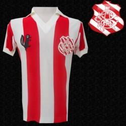 Camisa retrô Bangu gola polo - Coca Cola
