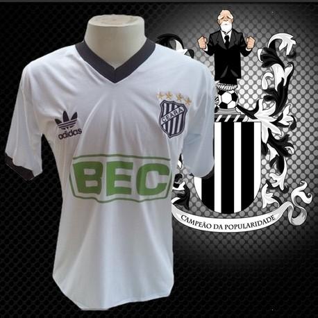 Camisa retrô Ceará  branca  BEC - 1986