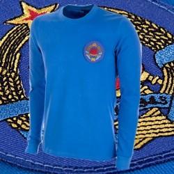 Camisa retrô   Yugoslavia   -1968 ML