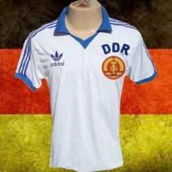 Camisa retrô   Alemanha logo  branca -  DDR