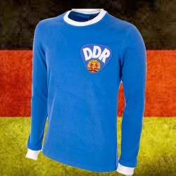 Camisa retrô  Seleção da Alemanha  DDR ML-  1980