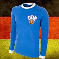 Camisa retrô  Seleção da Alemanha  DDR ML-  1980 listrada