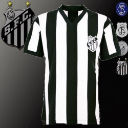 Camisa retrô Santos  gola V -  1972