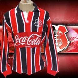 Camisa retrô Santa Cruz tricolor  ML- 1995