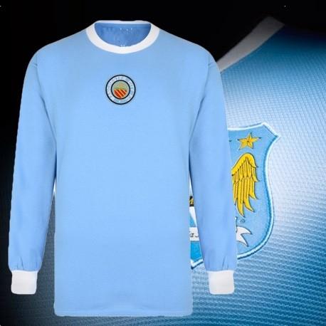 Camisa retrô Manchester city - ENG