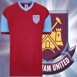 Camisa Retrô  West Ham  1958 - ENG