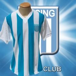 Camisa Retrô Racing  gola V- ARG