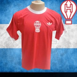 Camisa Retrô Huracan vermelha 1980 - ARG