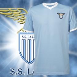 Camisa Retrô Lazio   tradicional- ITA