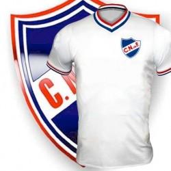 Camisa Retrô Nacional de Montevideo  gola V- URU