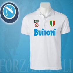 Camisa Retrô  Napoli Mars  buitoni  1988- 89 - ITA