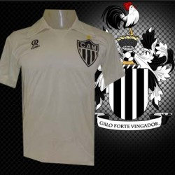 Camisa Retrô Atlético  Retrô  Branca  rainha