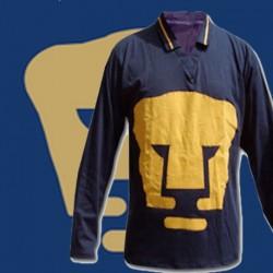 Camisa Retrô Los Pumas  azul ML  -  MEX