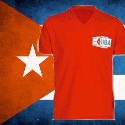 Camisa retrô Seleção de  Cuba  1970