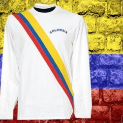 Camisa Retrô da Colombia