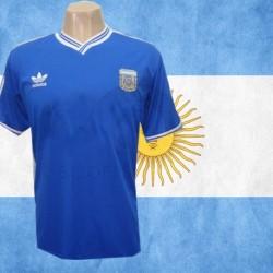 Camisa retrô da Argentina  logo-1990