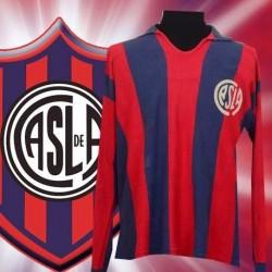 Camisa Retrô  San Lorenzo de Almagro  ML  gola polo- ARG