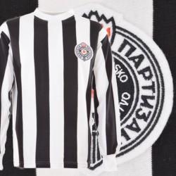 Camisa retrô  Partizan belgrado  ML