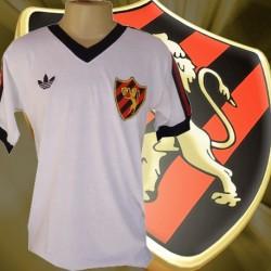 Camisa retrô Sport branca 1980