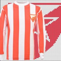 Camisa retrô Estrela vermelha ML -1970