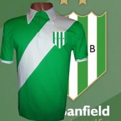 Camisa retrô Banfield  verde- ARG