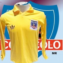 Camisa Retrô Colo Colo goleiro amarela 1970- CHI
