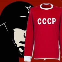 Camisa retrô CCCP  vermelha ML