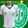 Camisa retrô Guarani 1986 branca logo