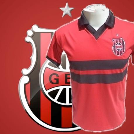 Camisa retrô  GEB  vermelha - 1950