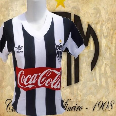 baby look retrô Atlético Mineiro coca cola - 1987