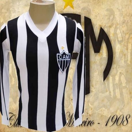 Camisa retrô Atlético  manga longa -  1975-80