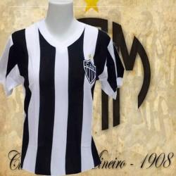 Baby look  retrô Atlético Mineiro tradicional