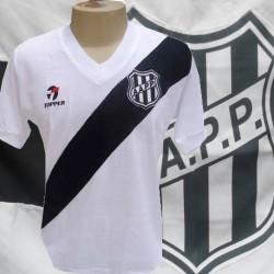 Camisa retrô Ponte Preta branca -  1980