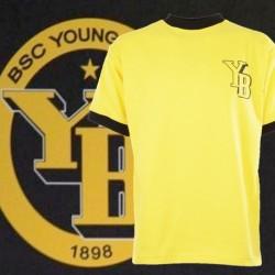 Camisa retrô amarela Young boys- SUI