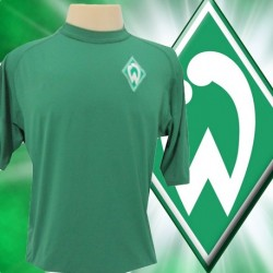 Camisa retrô Werder Breme  gola careca-1970